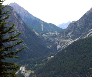 the mountains of the Susa Valley