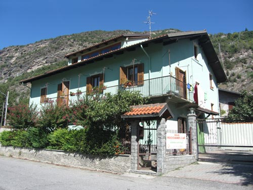 Bed and Breakfast visto dai prati